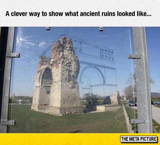 cool-ancient-ruins-sign-showing