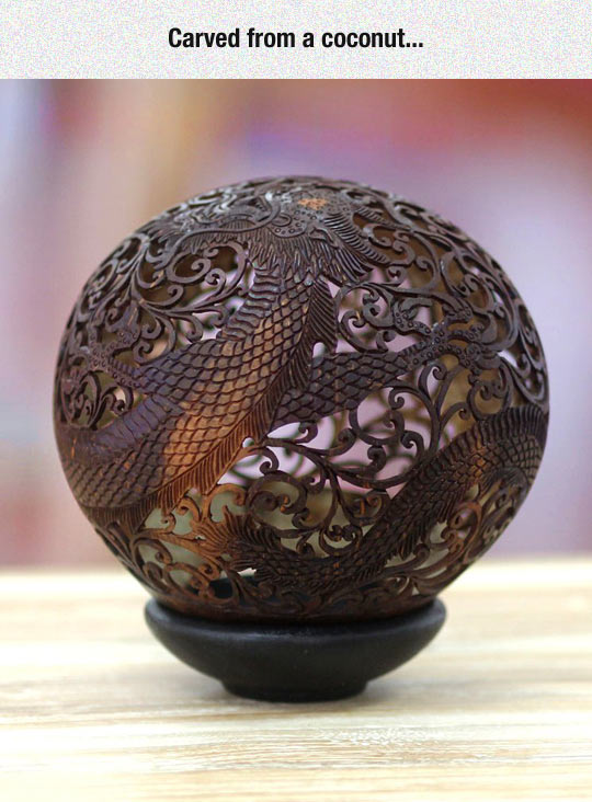 cool-coconut-carved-dragon-Asian