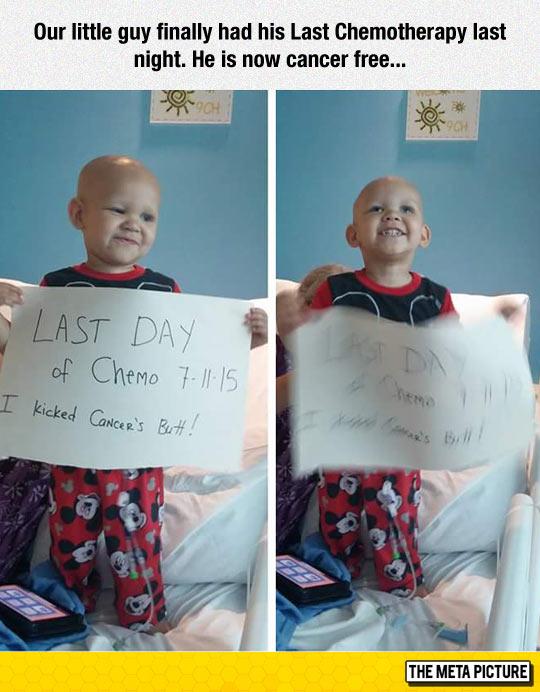 Congrats Little Guy
