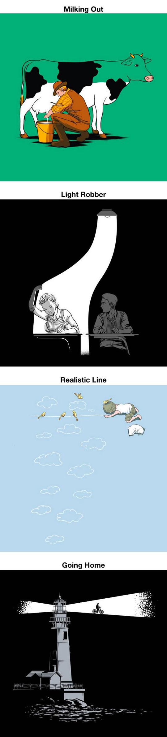 Incredible Optical Illustrations