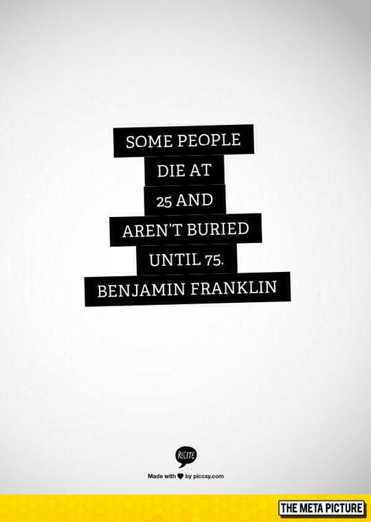 Wise Words From Benjamin Franklin
