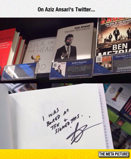 funny-Aziz-Ansari-Twitter-book-signed