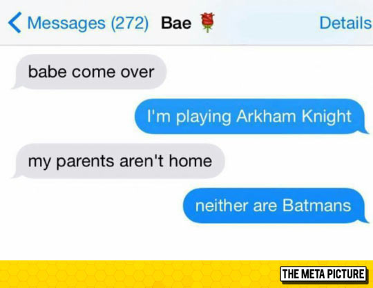 With The Release Of The New Batman Game