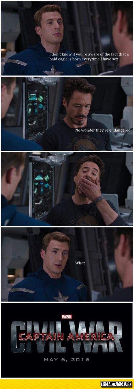 Iron Man Burn