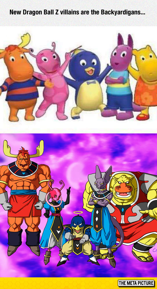 funny-Dragon-Ball-Z-Backyardigans