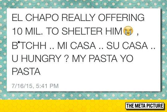 Helping El Chapo