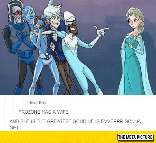 Frozone, Easy On That, You Have A Wife