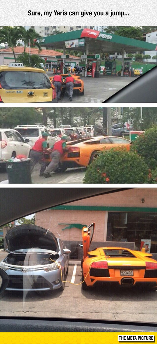 When Your Luxurious Lamborghini Needs Help