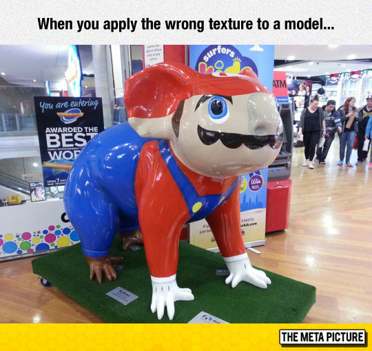 funny-Mario-model-painted-wrong