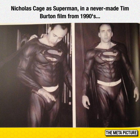 The Superman Who Never Was
