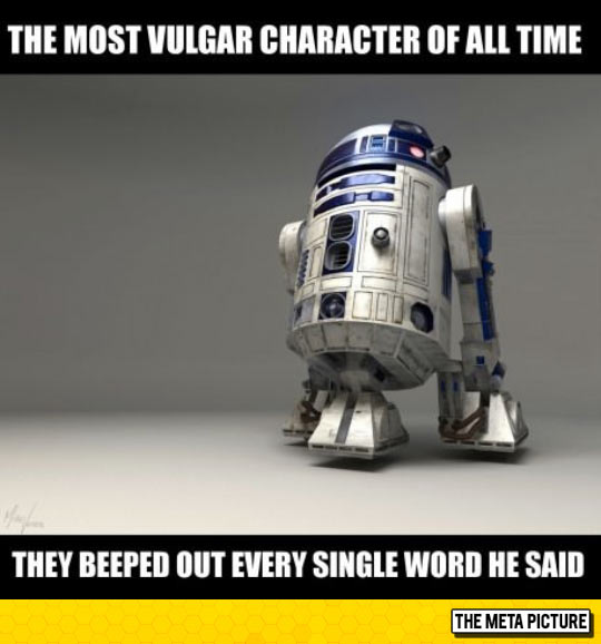 The Most Vulgar Movie Character Ever