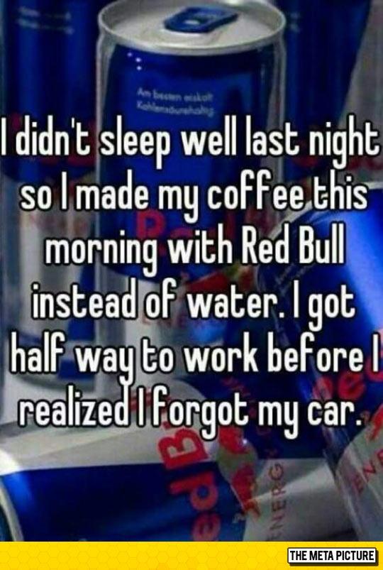 The Risks Of Red Bull For Breakfast