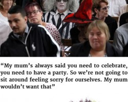 Darth Vader Leads Funeral For His Grandmother