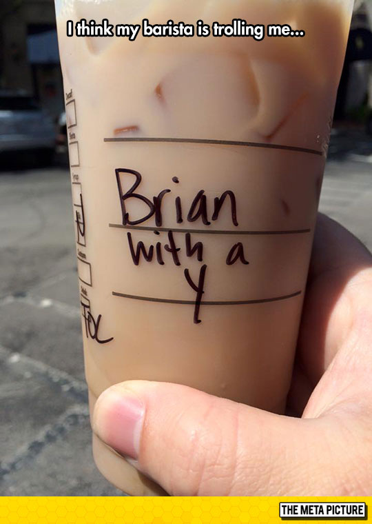 Baristas Are Messing With Us Now