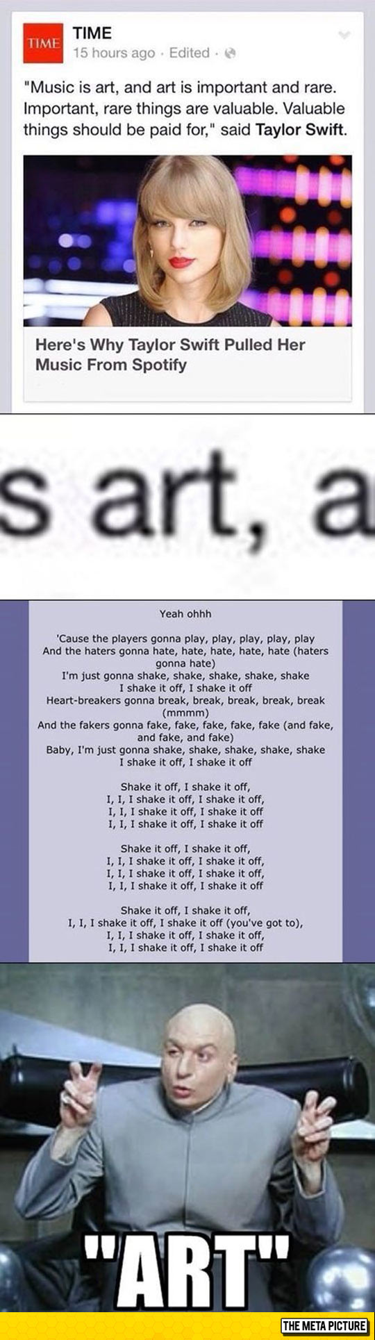 Taylor Swift Talking About Art