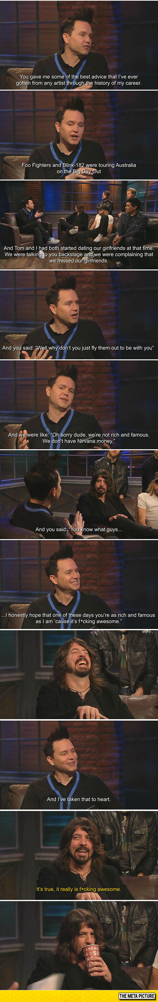 Life Advice From Dave Grohl