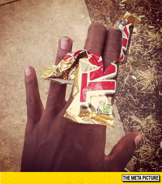 My Fingers Are Twix