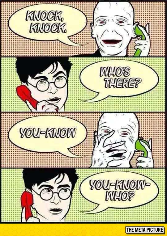 Voldemort Calls Harry