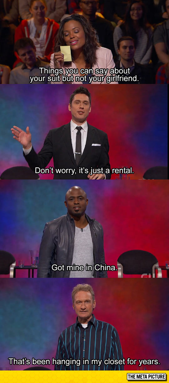Scenes From A Hat Escalated Quickly On Whose Line