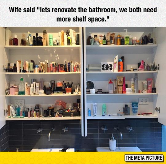 funny-bathroom-shelf-makeup-wife