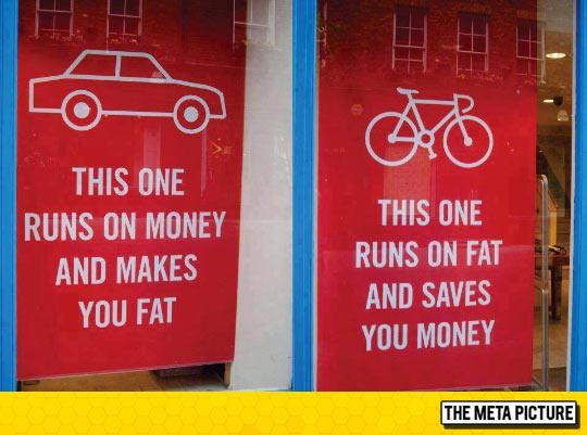 funny-bike-money-fat-car-runs