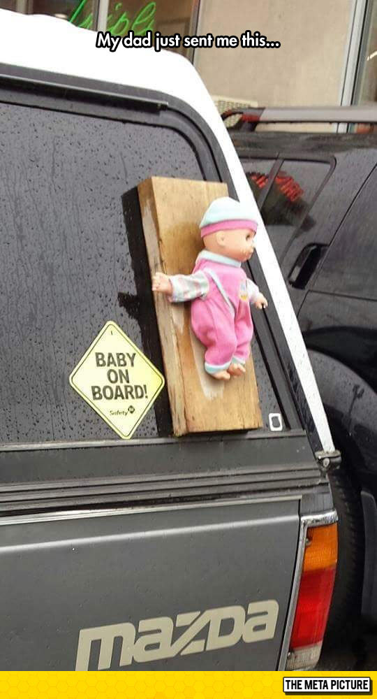 funny-car-baby-on-board-doll