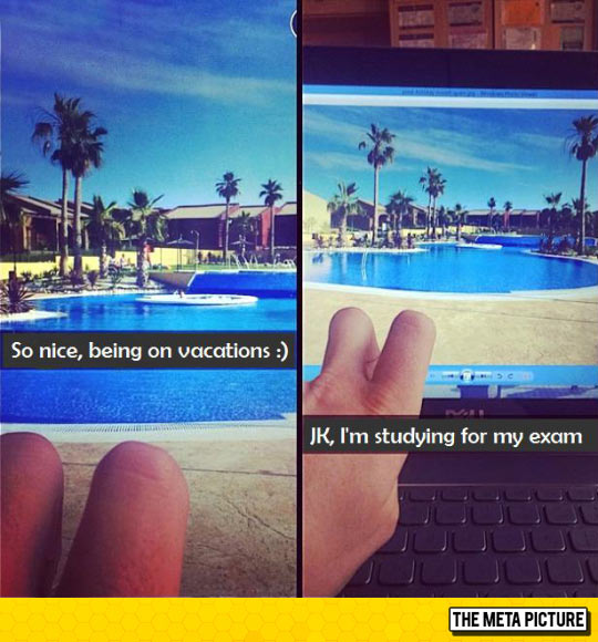 Being On A Vacation