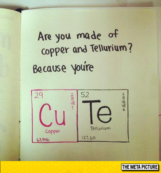 Pick Up Line For A Lab Girl