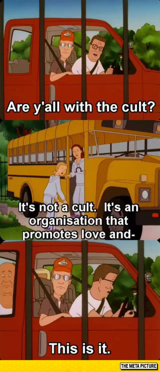 Are You With The Cult?