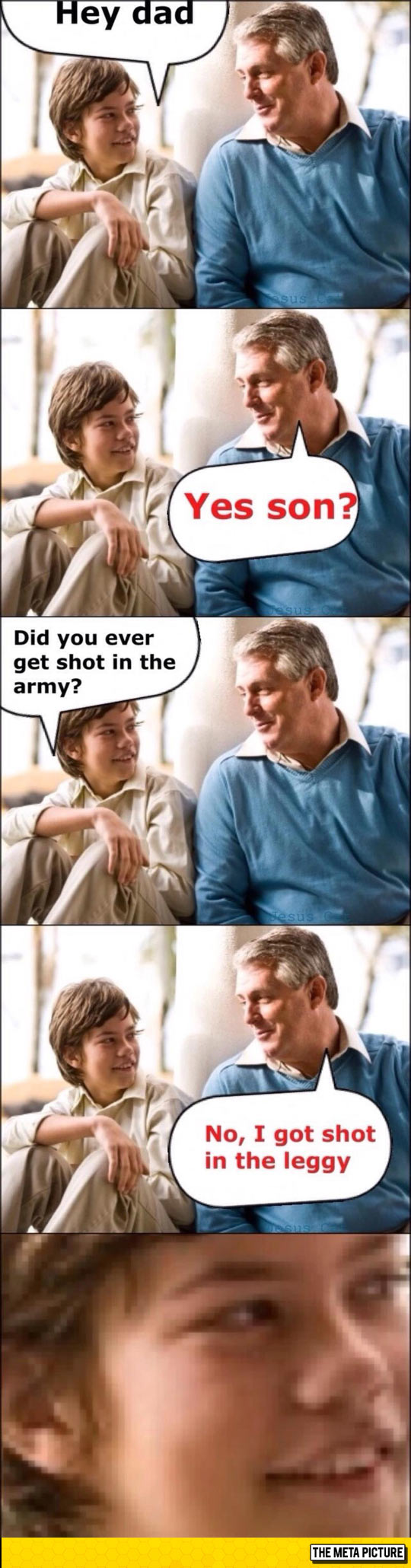 Dad Pun, Veteran Edition