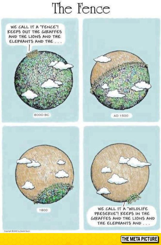 The Fence Of The World