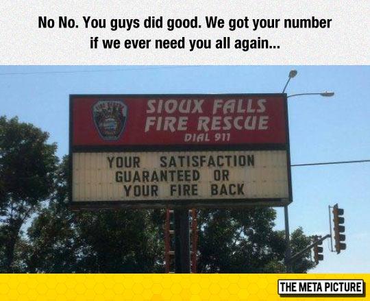 Fire Rescue Slogan