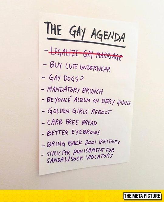 funny-gay-agenda-list-crossed