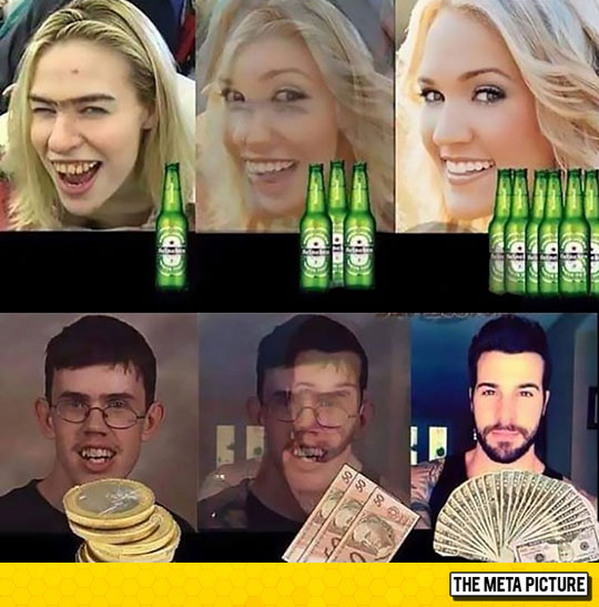 Unexpected Effect Of Alcohol And Money
