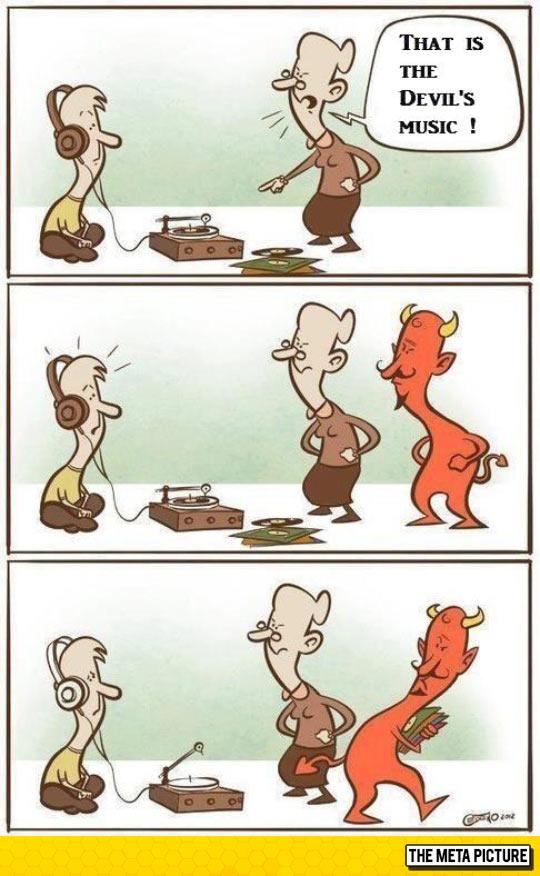 funny-grandmother-devil-music-comic