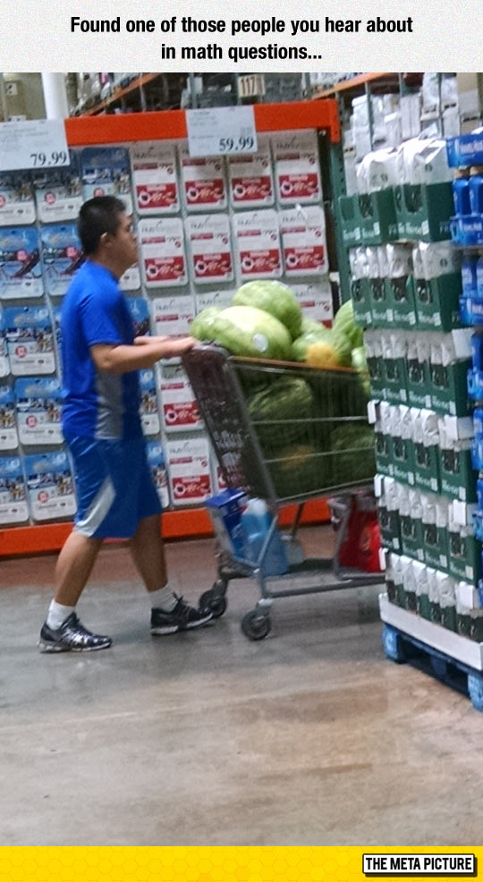 Jim Bought 60 Watermelons