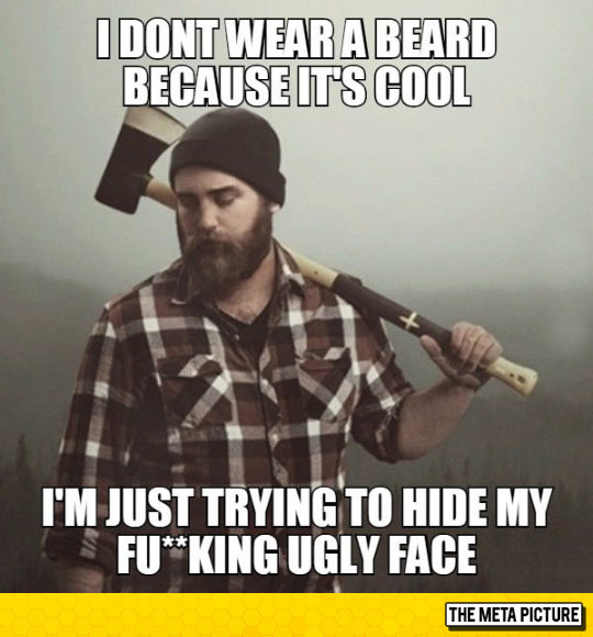 funny-lumber-ax-ugly-face-beard