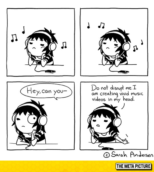 I Do This Every Time I Hear Music