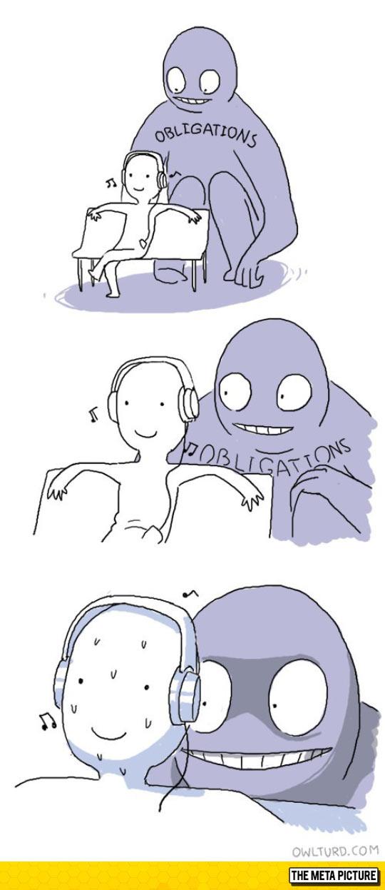 Every Time I Take A Break