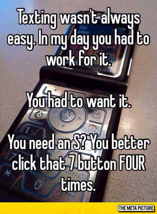 Texting Wasn