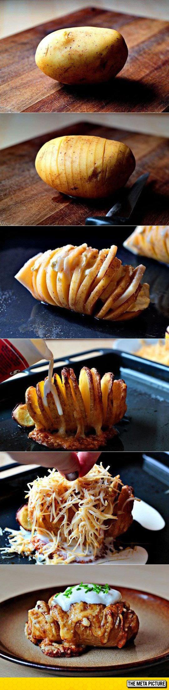 Incredible Delicious Baked Potato