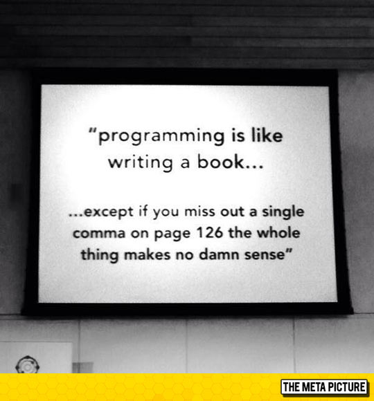 Programming Is Just Like Writing