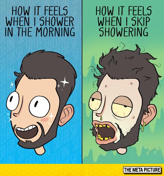Never Skip Shower