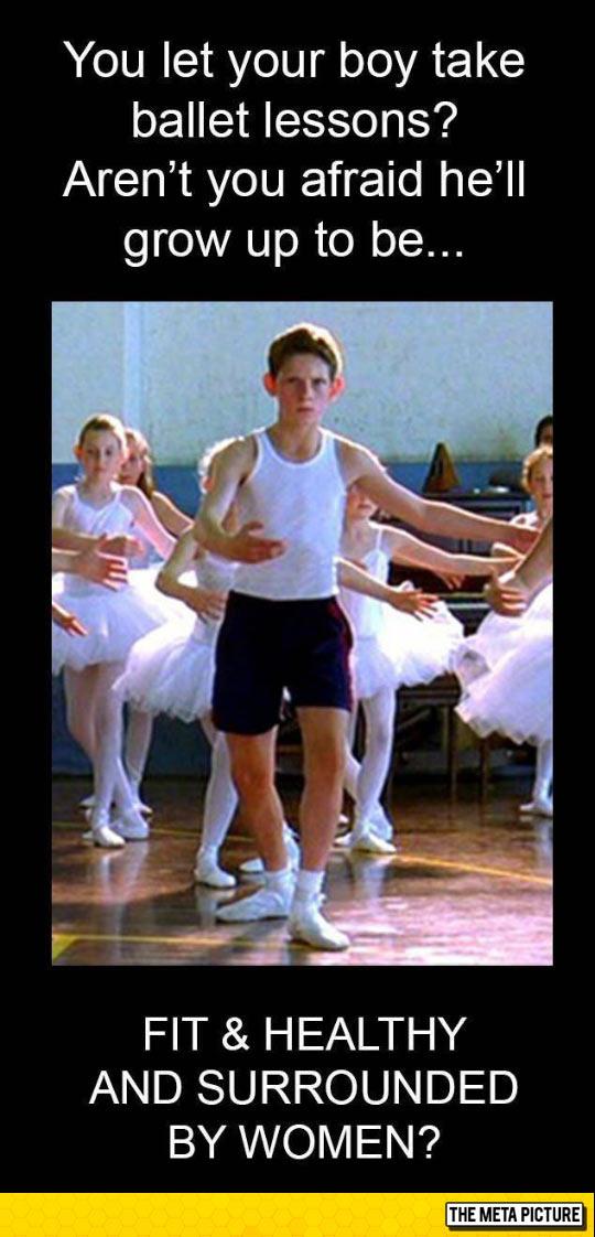 Men Who Take Ballet Lessons