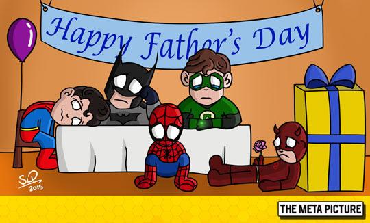 Poor Super Heroes