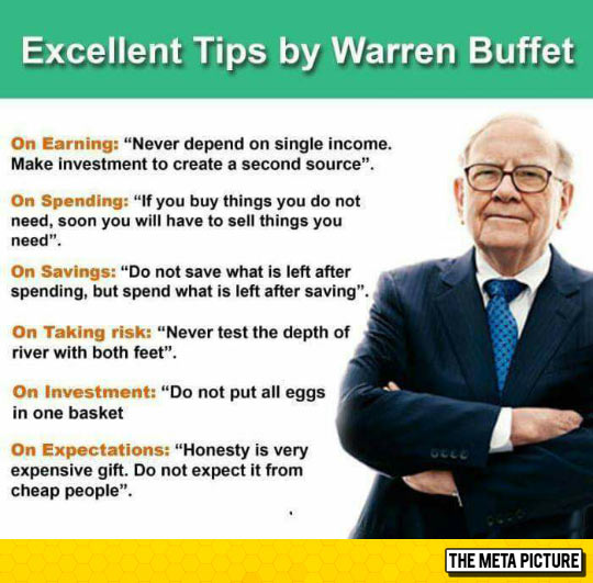Tips By One Of The Richest Men In The World