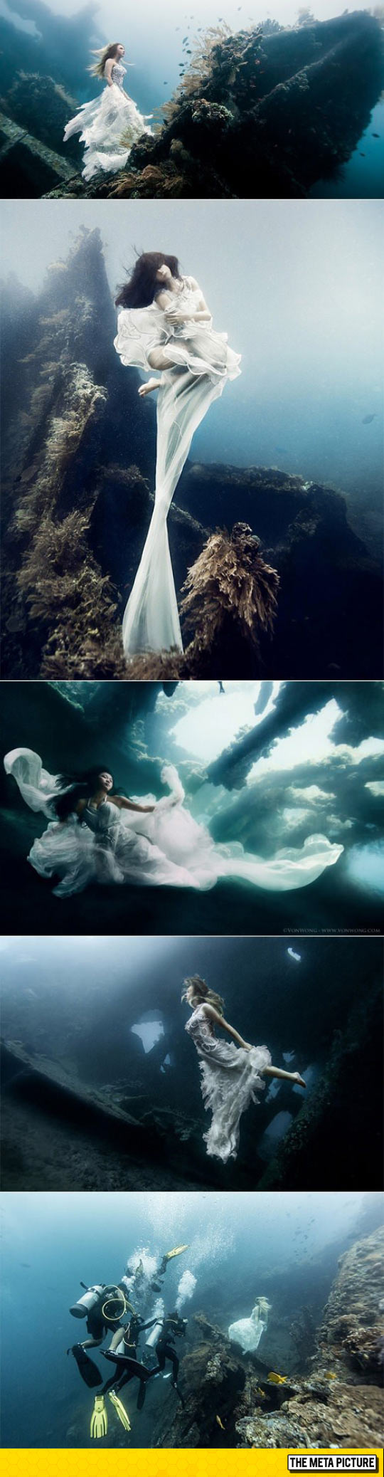 Underwater Photoshoot, Bali