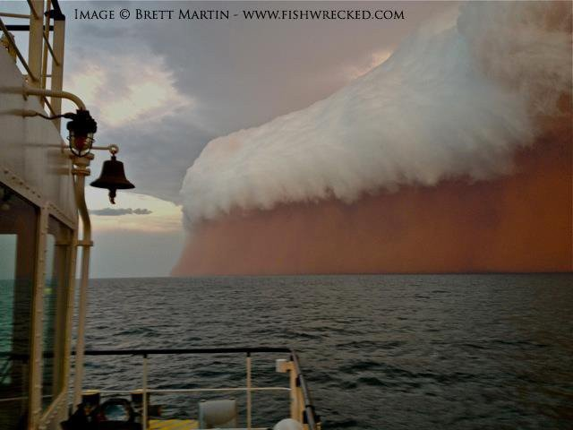 11. Western Australia coast - Tsunami of Particles