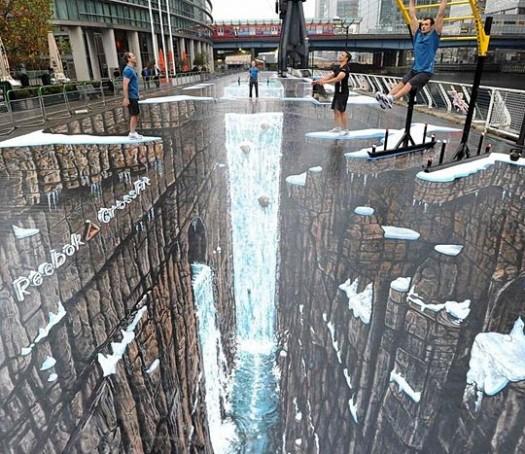 Awesome sidewalk art