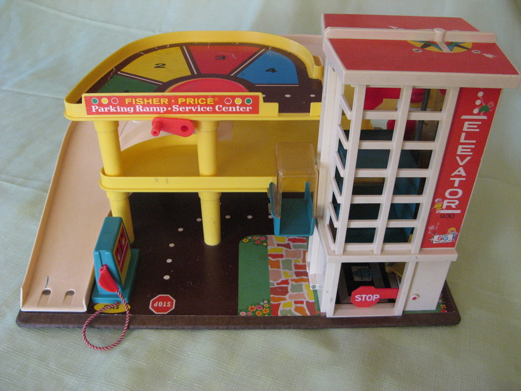 Blast from the past The Fisher Price Garage